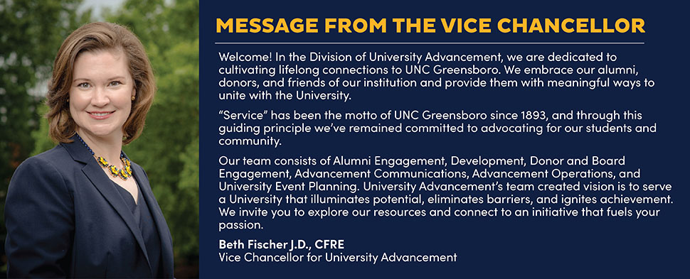 Message from the Vice Chancellor